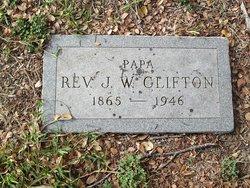 Rev James Washington Clifton