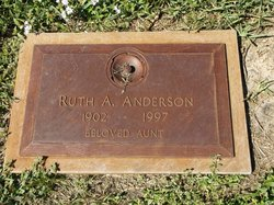Ruth A Anderson