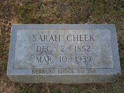Sarah Cheek
