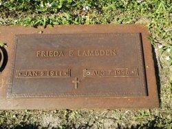 Frieda E Lambden
