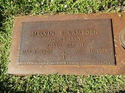 Melvin B Lambden