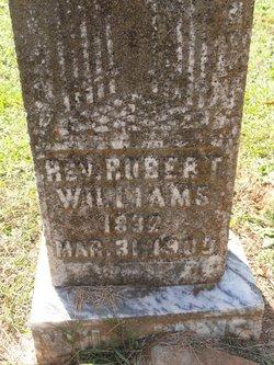 Rev Robert Williams