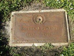 Bertha O Perkins