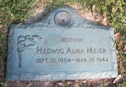 Hedwig Alma <I>Buntzel</I> Meier