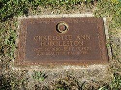 Charlotte Ann Huddleston
