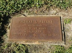 Thomas L Peters