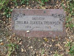 Thelma Juanita <I>Swindell</I> Thompson