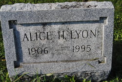 Alice H Lyon