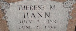Therese M Hann
