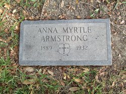 Anna Myrtle <I>Bell</I> Armstrong