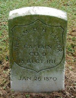 William H H Taylor