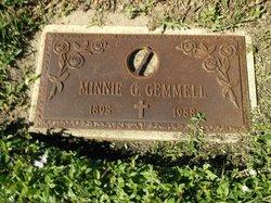 Minnie G Gemmell