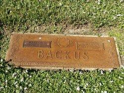 Walter S Backus