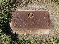 Mary C Kraatz