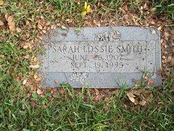 "Sarah Lorene ""Lossie"" <I>Bozeman</I> Smith"