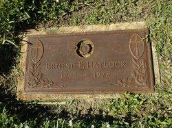 Ernest E Haylock