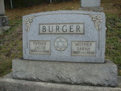 Sarah <I>Roth</I> Burger