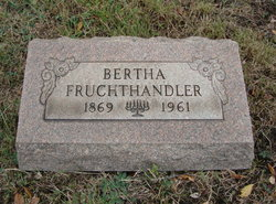 Bertha <I>Schwartz</I> Fruchthandler