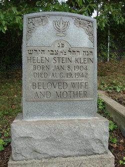 Helen <I>Stein</I> Klein