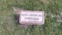Ruth E <I>Dunterman</I> Hayden
