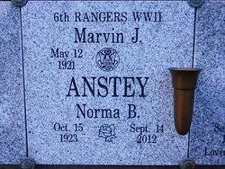 """Marvin John """"Marv"""" Anstey"""