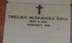 Thelma <I>McNarmara</I> Ryan