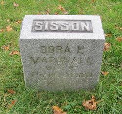Dora E. <I>Marshall</I> Sisson