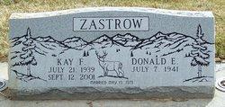 Kay F Zastrow