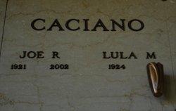 """Lula Mae """"Lola"""" <I>Mathenia</I> Caciano"""