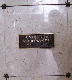 H Virginia <I>Higgenbother</I> Schrolucke