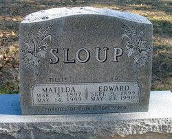 """Matilda """"Tillie"""" Sloup"""