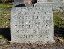 George Balmuth