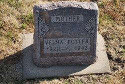 Velma Hedwig <I>Goedeken</I> Potter