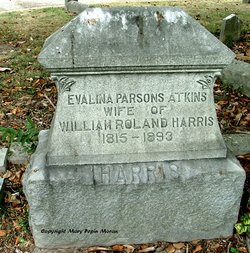 Evalina Parsons <I>Atkins</I> Harris