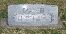 """Nell Louella """"Nellie"""" <I>Comly</I> Lorch"""