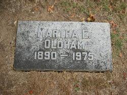 Martha <I>Evans</I> Oldham
