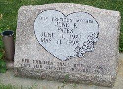 June Florice <I>Ferguson</I> Yates