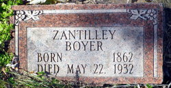 Zantilley <I>Cates</I> Boyer