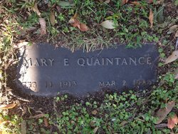 Mary E Quaintance