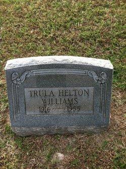 Trula May <I>Helton</I> Williams