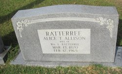 Alice T. <I>Allison</I> Ratterree