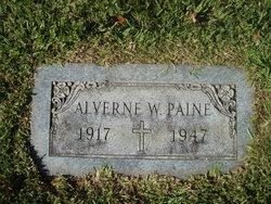 Alverne <I>Walker</I> Paine