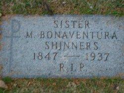 Sr M Bonaventura Shinners