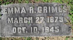 Emma <I>Rossberg</I> Grimes