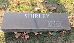 Thomas Lane Shirley
