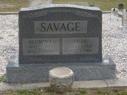 Lizzie <I>Messick</I> Savage