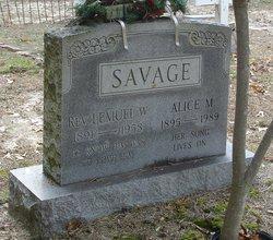 Rev Lemuel Webster Savage