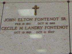 Cecile M. <I>Landry</I> Fontenot