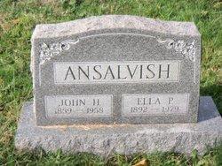 John Henry Ansalvish