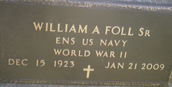 William A Foll, Sr